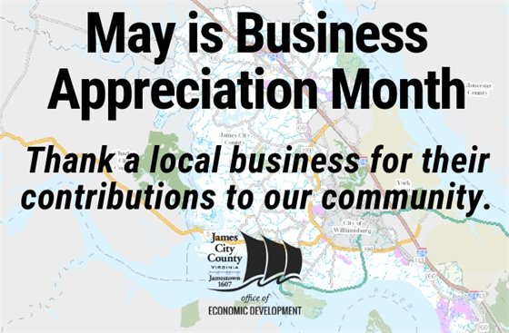 May is Business Appreciation Month