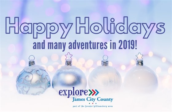 Happy holidays and many adventures in 2019!