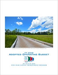 2018 Adopted Budget Cover