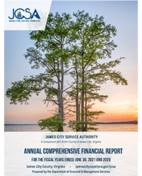 FY16 James City Service Authority Comprehensive Annual Financial Report
