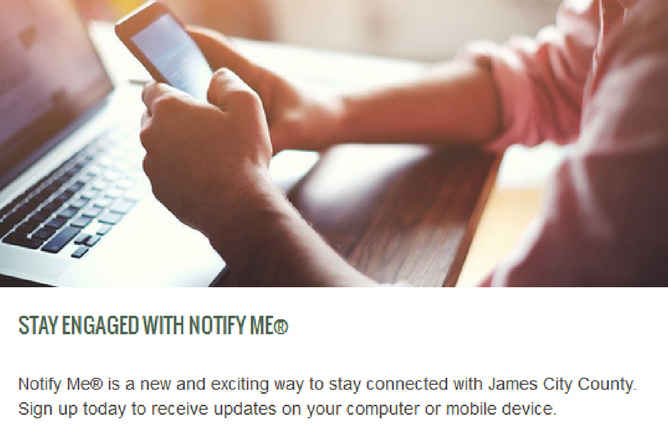 Stay engaged with Notify Me